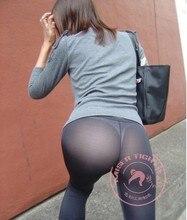 HOT Sexy Women Transparent Long Flare Pants Sexy Hips See Through Sheer Causual Pants & Capris Pantalon Pantalones 2016 New