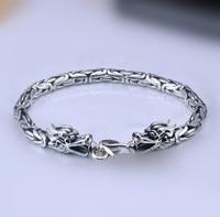 Brand new thai silver dragon bracelet corsair 925 sterling silver vintage Chain & Link bracelets