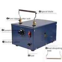 230 V 110 V 250 W Durbale e Prática Profissional de Corte De Tecido De Corte Cortador De Faca De Corte Quente de Aquecimento Elétrico Quente ferramenta