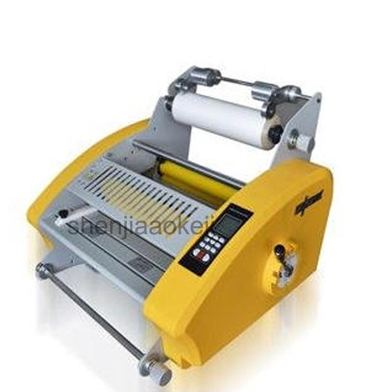 Four roller Laminating Machine DC-3812 hot crucible machine heated roll laminator 220V/110V (50Hz/60Hz) 1 pcs 110v 220v 13 v350 laminating machine four rollers cold hot laminator v350 laminating machine hot roll laminating machine
