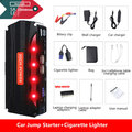 2019 MultiFunction Emergency Car Jump Starter Mini 12V Portable Power Bank Car Charger Battery Booster for Cars Starting Device
