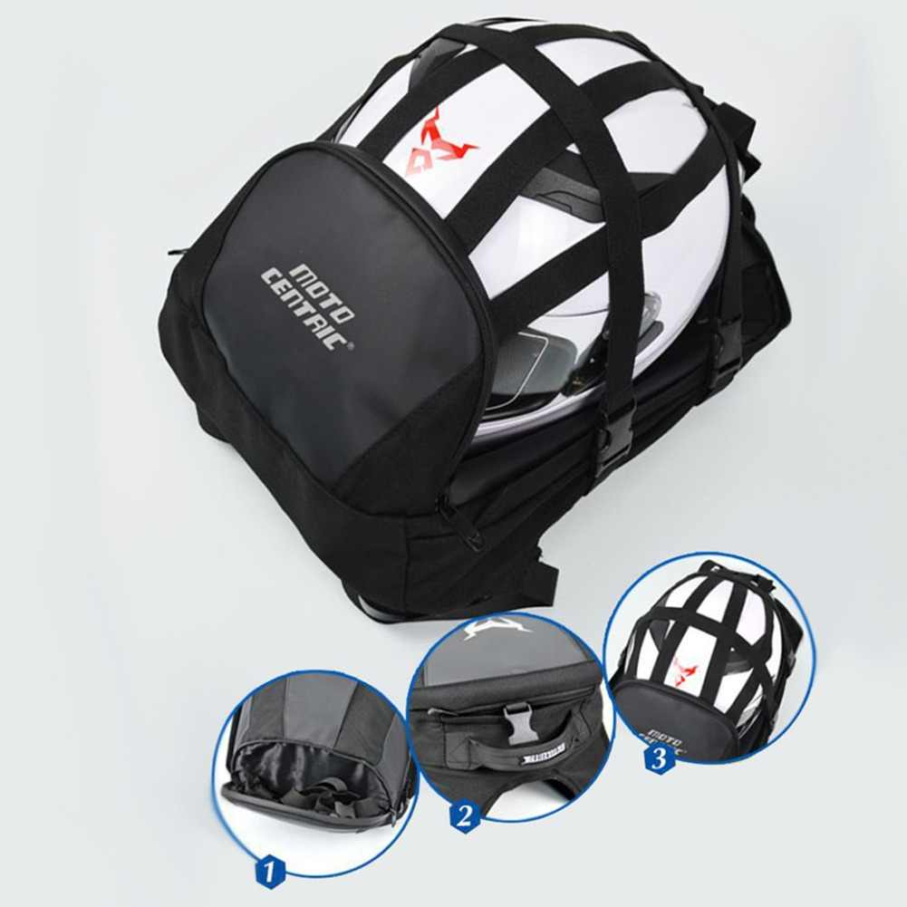 Moto Motorcycle Tail Bag Backpack Waterproof Helmet Storage Bag Motorcycle Bag Leisure Travel High Quality For Women Men Baggage