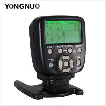 Zaktualizowany YN560-TX II błysk Yongnuo bezprzewodowy wyzwalacz ręczny kontroler błysku do Canon Nikon YN560IV YN660 968N YN860Li Speelite tanie i dobre opinie 0 12 AAA Battery Trigger