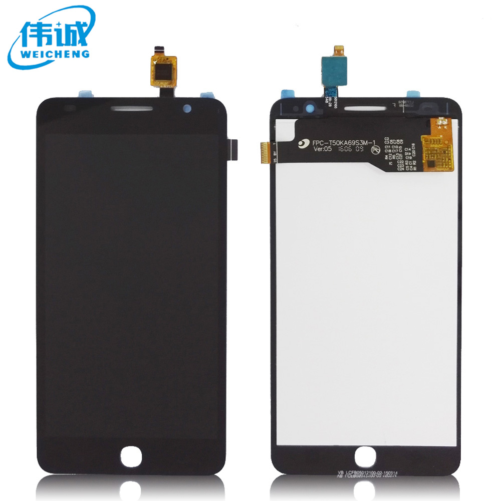 WEICHENG For Alcatel One Touch Pop Star 3G OT5022 OT 5022 OT-5022 5022X 5022D LCD Display Digitizer Screen Complete AssemblyWEICHENG For Alcatel One Touch Pop Star 3G OT5022 OT 5022 OT-5022 5022X 5022D LCD Display Digitizer Screen Complete Assembly