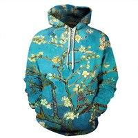 3D Printed Flower Women Men Sweatshirt Funny Hooded Hoodie Jumper Coats Tops Tracksuit Streetwear Unisex Pullovers Sweatshirts