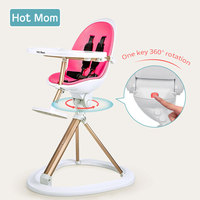 Hot Mom Children's Dining Chair Multifunction Baby Dining Portable Baby Chair Dining Table Folding