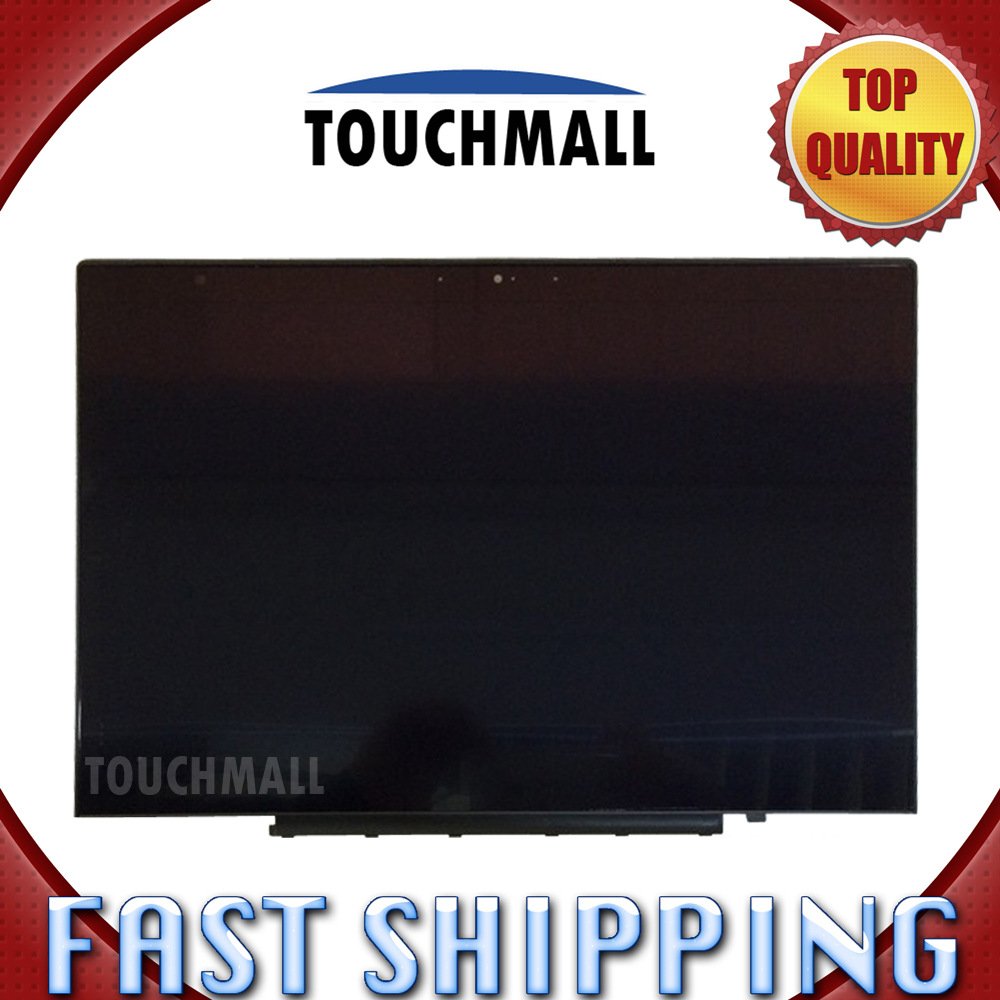 For New LCD Display Touch Screen with Frame Assembly Replacement Lenovo ThinkPad X1 Carbon LP140QH1-SPA2 2560x1440 Free Shipping
