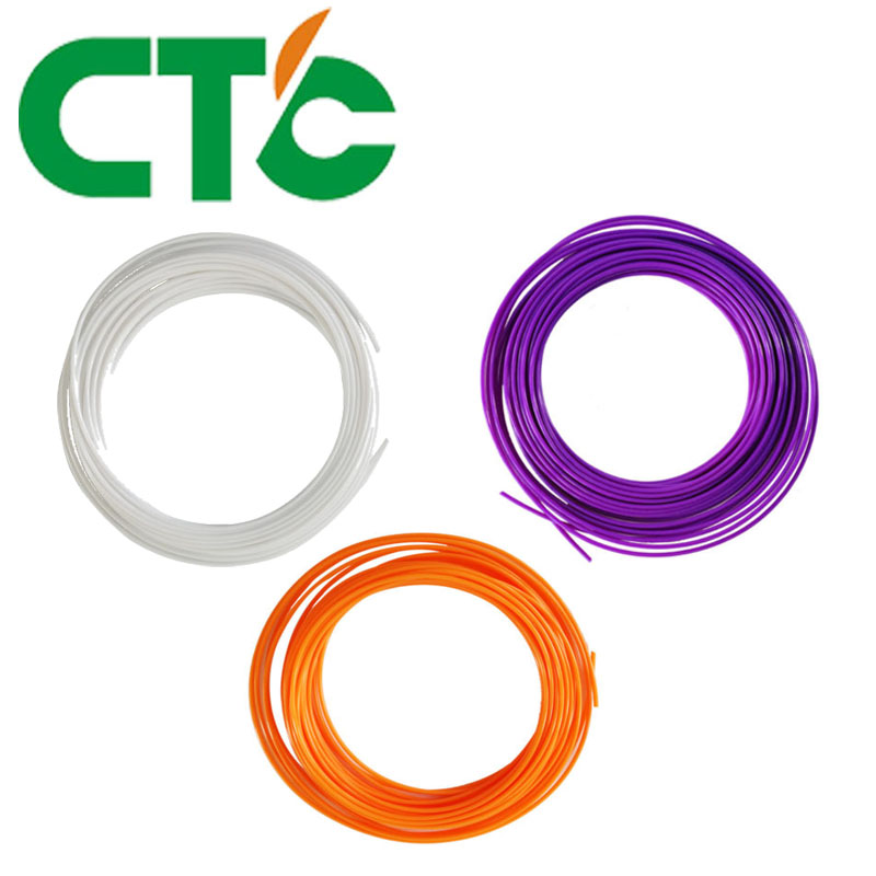 CTC 3 pieces/lot 10M 3D Printer Filament PLA 1.75mm Plastic Rubber