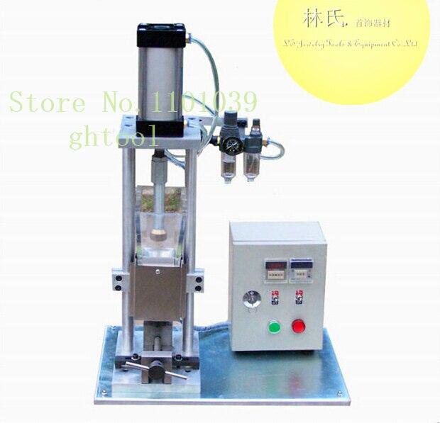 Jóias de alta Qualidade Que Faz A Máquina Máquina De Fundição Por Cera Vacuum Digital Wax Injector ghtool Transporte Rápido