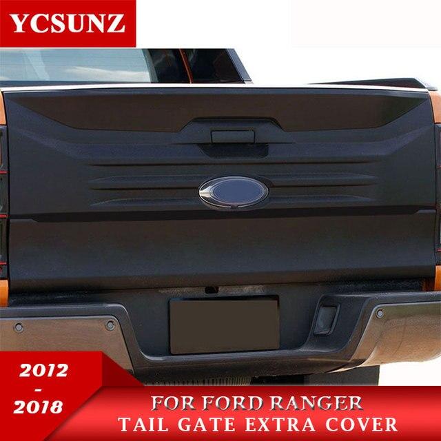 2012,2018 Tail Porta Spingere Copertura Per Ford Ranger Accessori Coda  Extra Porta Trim Adatto