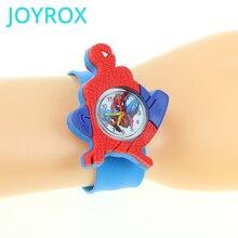 JOYROX Spiderman Child Watches 3D Cartoon Pattern For Boys G