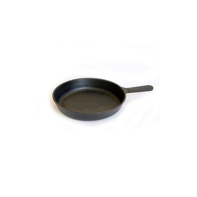 Сковорода Камская посуда, 24 см, с чугунной ручкой