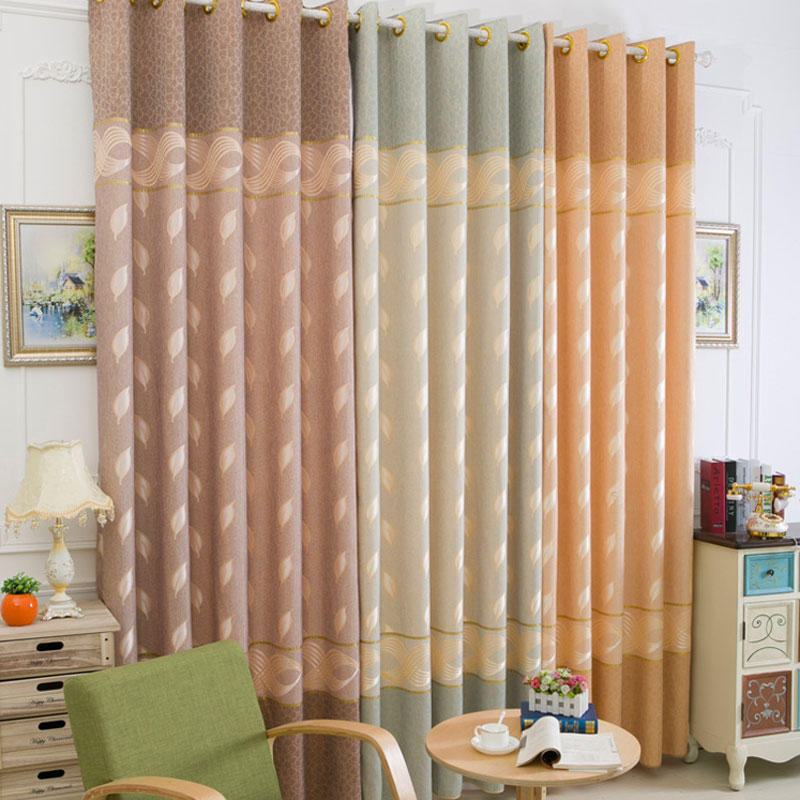 European Tricolor Royal Luxury Curtains for Bedroom Window Curtains for Living Room Elegant Drapes Curtains 0170