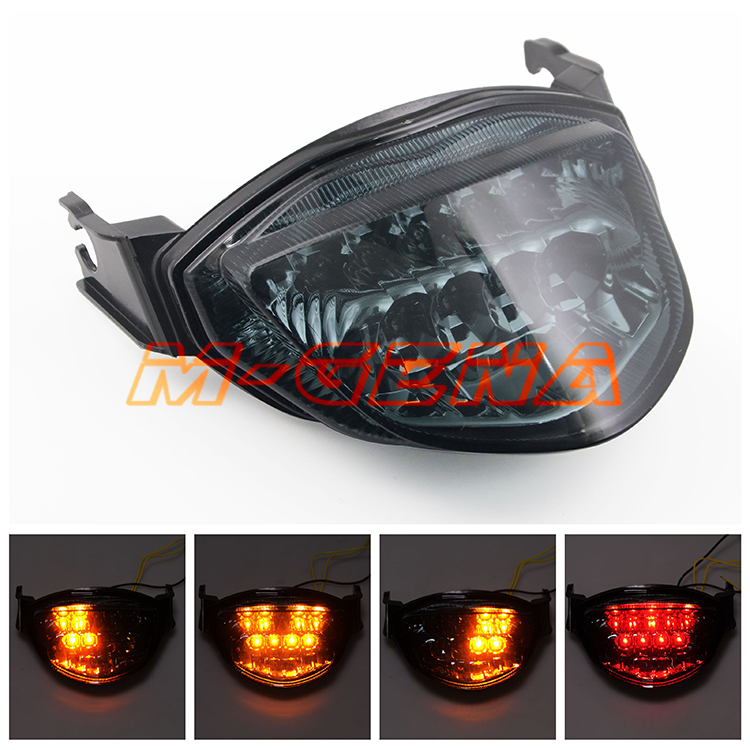 Motorcycle LED Rear Turn Signal Tail Stop Light Lamp Integrated For GSXR1000 GSXR 1000 2005 2006 05 06 K5Motorcycle LED Rear Turn Signal Tail Stop Light Lamp Integrated For GSXR1000 GSXR 1000 2005 2006 05 06 K5