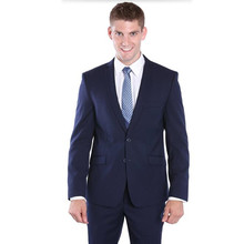 Solid color groom suits tuxedos new design wedding suits tuxedos blue single breasted groomsman party dress suits(jacket+pants)