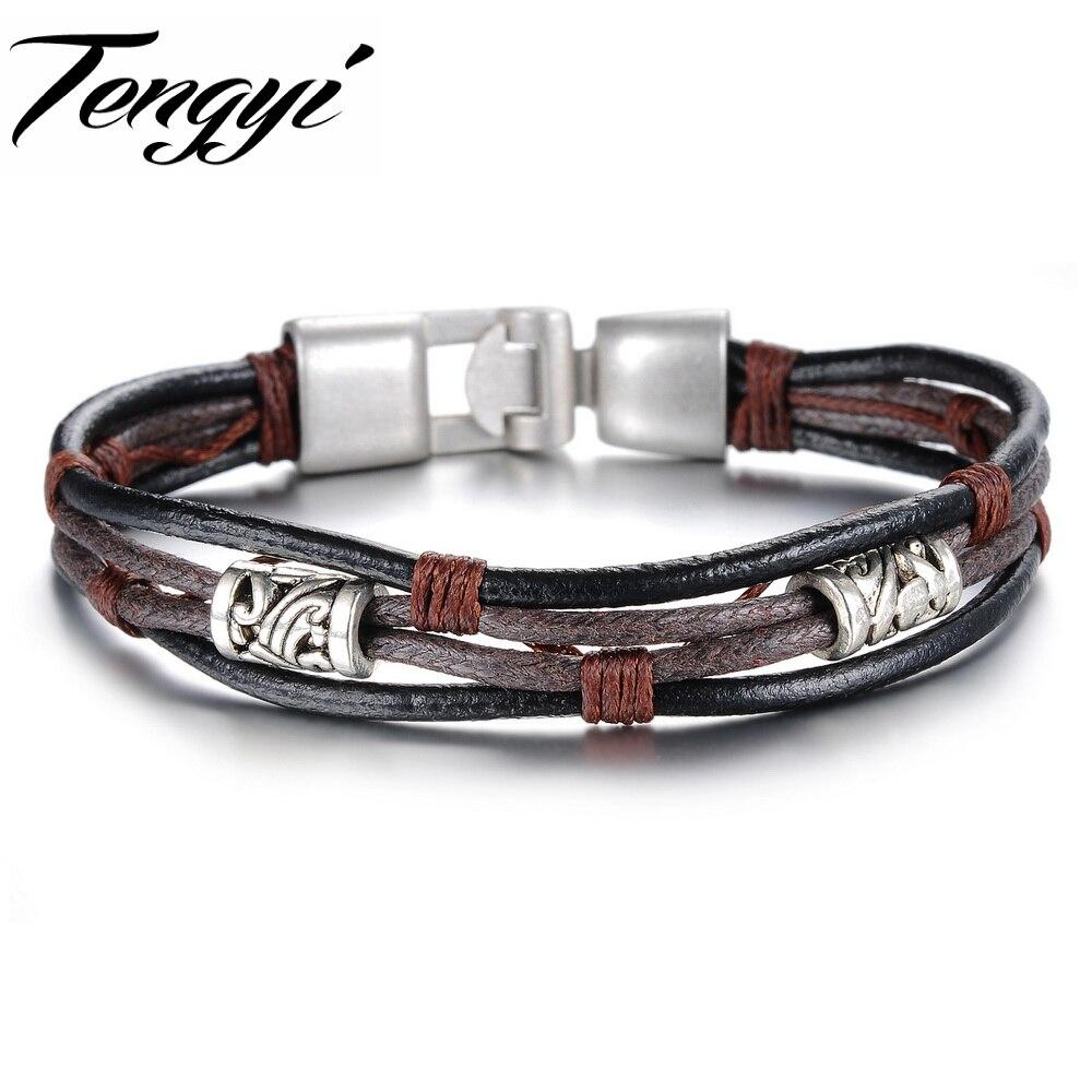 Vintage-Looking DIY Gilded Stamped Leather Bracelet recommend