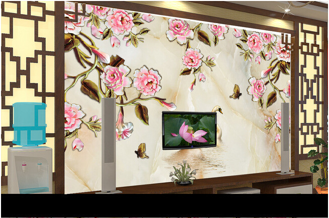 Custom 3D wallpaper, roses and Swan murals for the living room bedroom TV background wall waterproof papel de parede custom wallpaper murals ceiling the night sky for the living room bedroom ceiling wall waterproof papel de parede