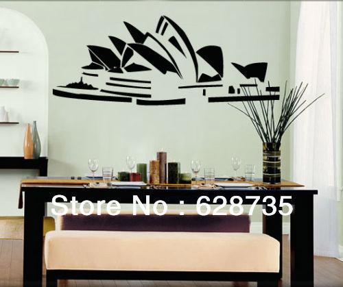 Wholesale Home Decor Australia: Sydney Opera House Sticker Australia World Famous