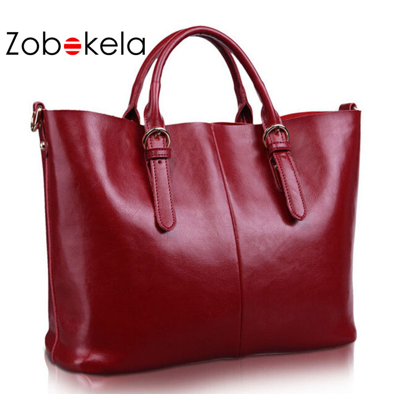 ZOBOKELA Genuine Leather Bag Women 2017 Shoulder Bag Famous Designer Women Messenger Bags For Women Handbag Luxury Bag Women zobokela genuine leather women bag handbags designer women messenger bags leather shoulder bag handbag ladies bag women