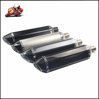 Motorbike Universal 35 51MM Exhaust Sticker Muffler Pipe 570mm Escape Fit For Most Motorcycle ATV 125 1000cc Nice Sound