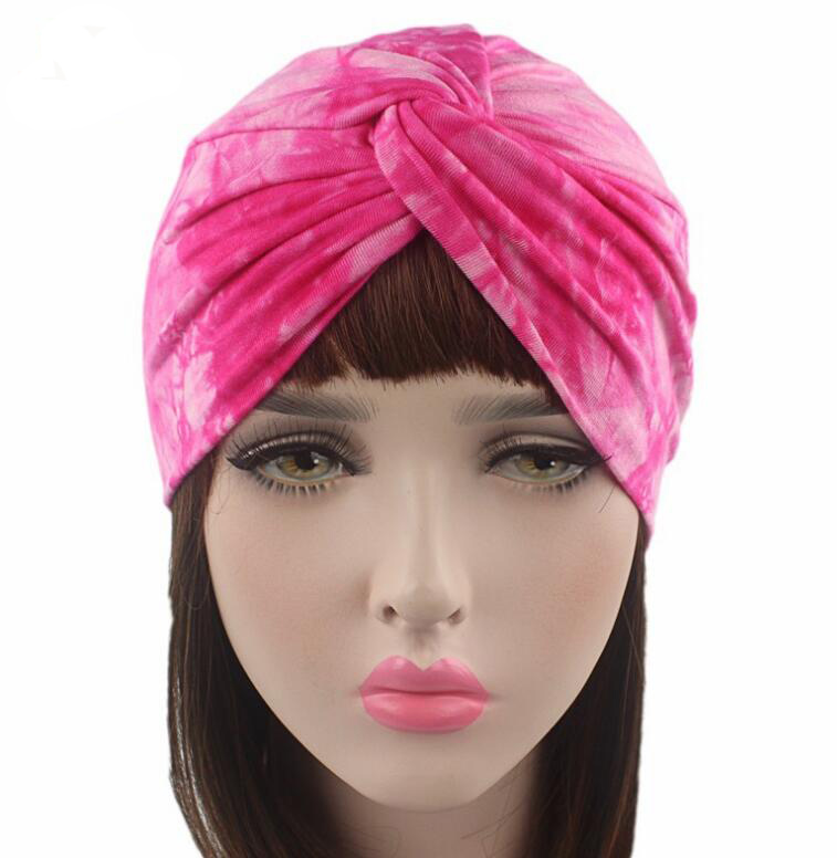women hats dyed turban caps twist dome caps head wrap Europe style india hats women beanies skullies for fall and spring pastoralism and agriculture pennar basin india