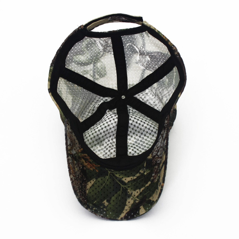 Jungle Old Tree Hat Hunting Fishing Camo Cap Adjustable Camcouflage Baseball Cap For Men (3)