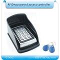 Frete grátis concha de metal À Prova D' Água + senha caso & 125 KHZ RFID Entrada Da Porta Bloqueio do Sistema de Controle de Acesso + 10 KeyFob