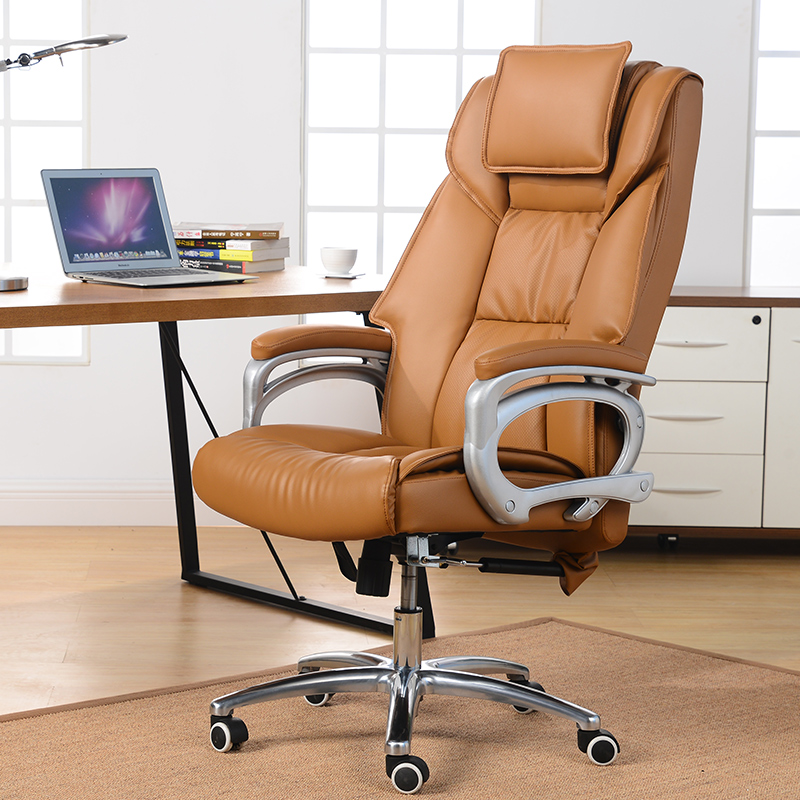 Synthetic Leather Office Chair Three Color Chair Adjustable Chair