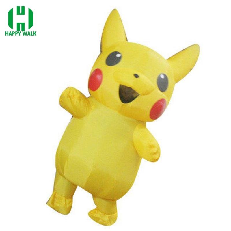 Nieuwste Pikachu Kostuum Leuke Halloween Kostuums Voor Volwassen - Carnavalskostuums - Foto 1