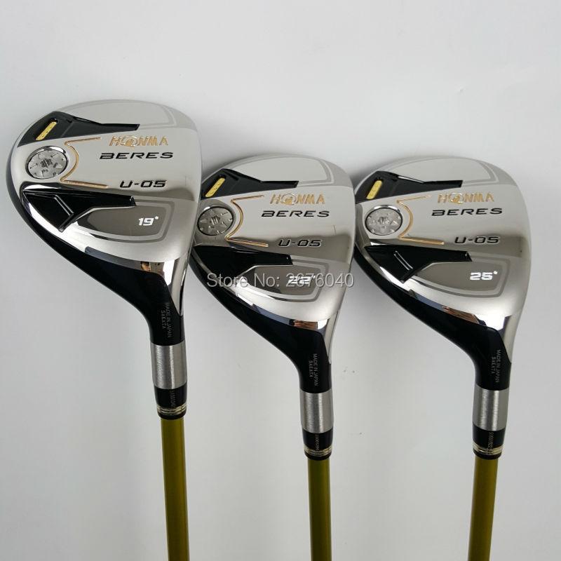 Club de golf honma beres u-05 híbridos de golf de 3 estrellas 19/22/25/grado env
