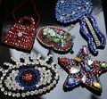 Handmade rhinestone estrela costurar-no remendo diy eye patches para vestuário sapatos sacos de costura artesanato acessórios de decoração remendo colar