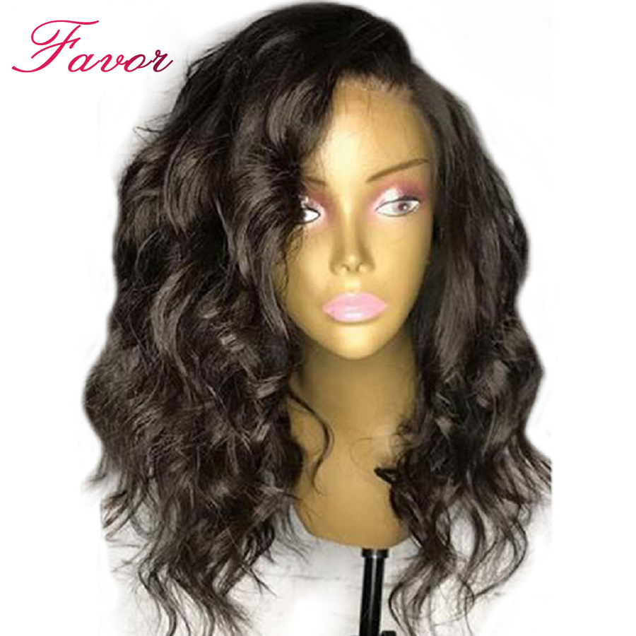 13X6 объемная волна Синтетические волосы на кружеве натуральные волосы парики с волосами младенца Синтетические волосы на кружеве парик 150% п...