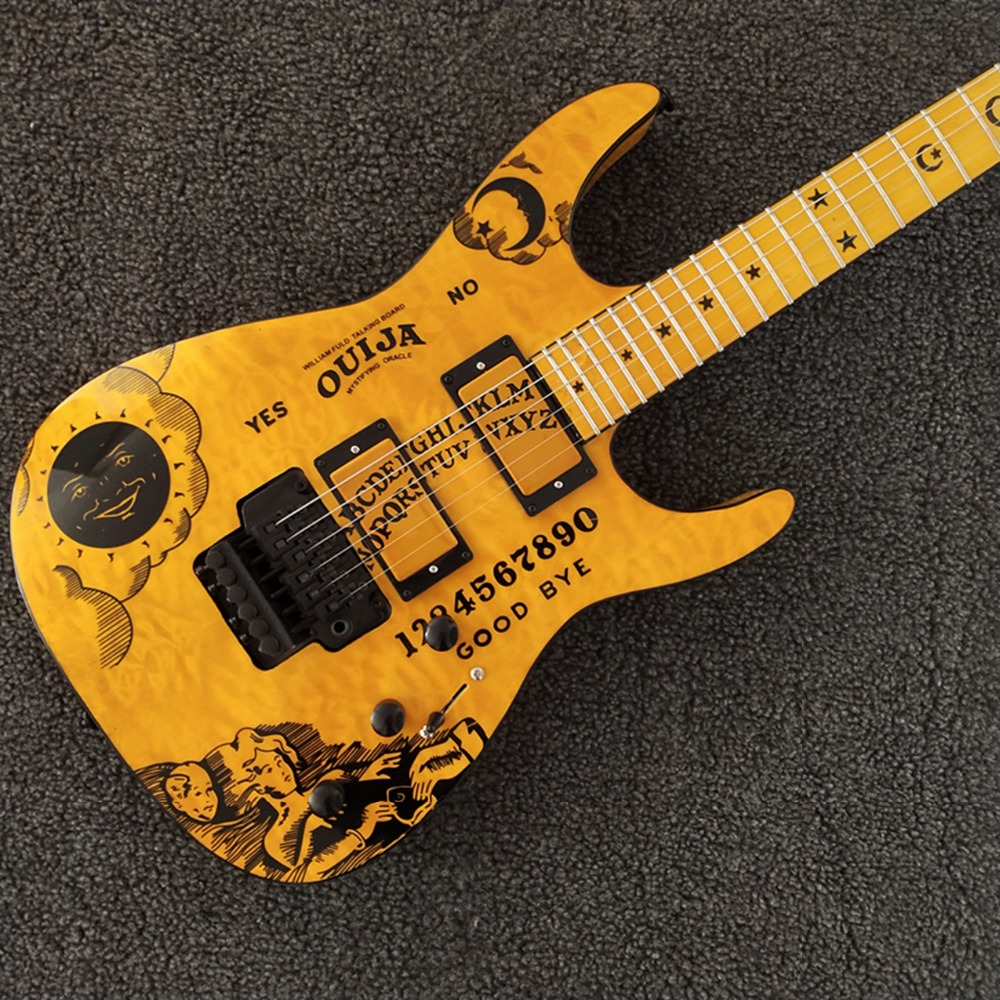 Able Free Shipping 2019 Solid Body Replica Guitar Chinese Factory Electrique Musical Instrument Electric Guitar Byq-0213 Attractive And Durable