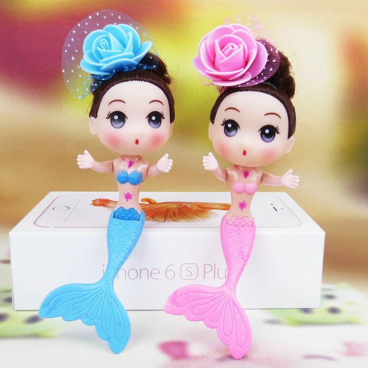1pcs/set 16cm Swimming Mermaid Dolls Ddung Doll Girl's Toys Confused Doll Mermaid Dolls For Girl's Birthday Gifts