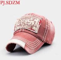 PJ.SDZM Men's Summer Korean Version Fashionable Baseball Cap Top Cotton Casual Cap Korean Students Hat
