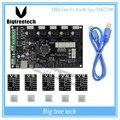 Последние МКС Gen V1.4 управления совета Мега 2560 R3 платы RepRap Ramps1.4 совместим с USB и 5 ШТ. TMC2100 3D принтер