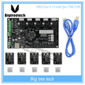 Mais recentes MKS Gen V1.4 Mega 2560 R3 Ramps1.4 RepRap motherboard placa de controle compatível com USB e 5 PCS TMC2100 3D impressora