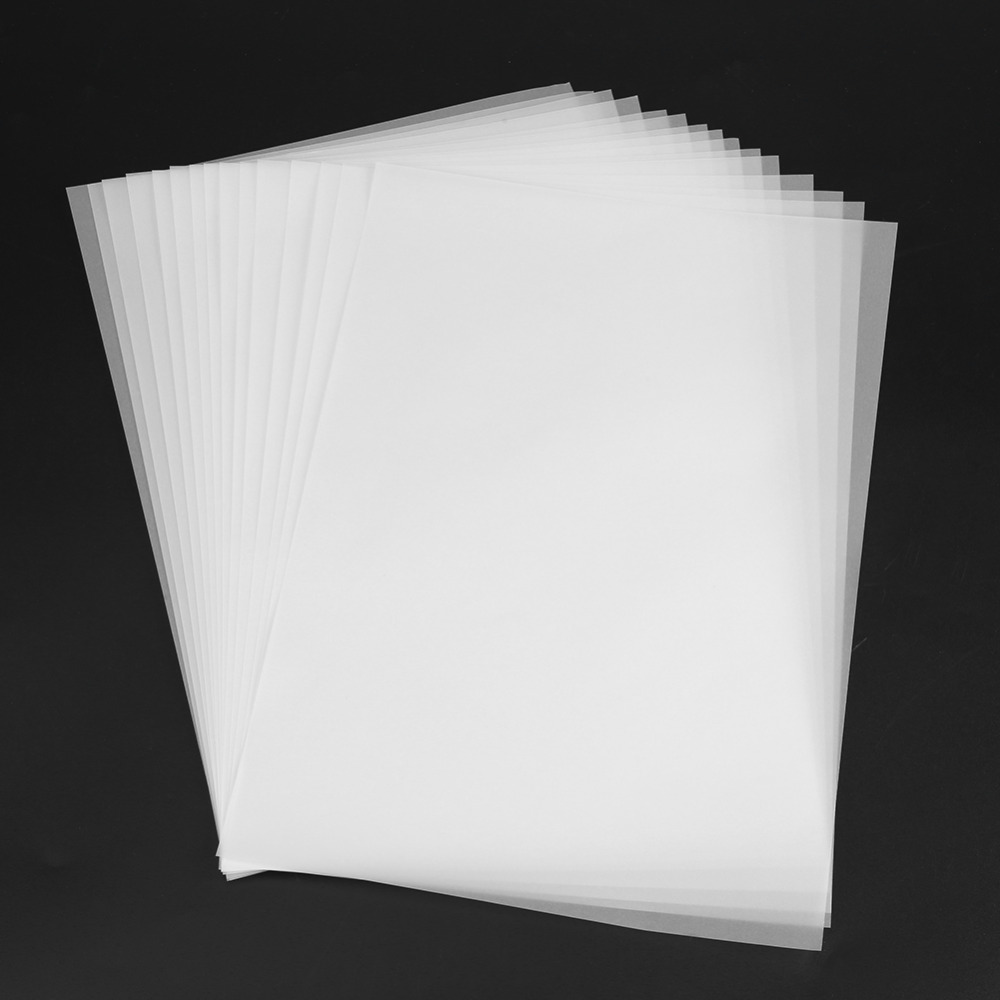 100pcs A4 Translucent Tracing Paper Copy Transfer Printing Drawing Paper sulfuric acid paper for engineering drawing / Printing 1