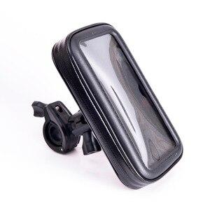 Image 2 - INIZEAL 360 Rotierenden Wasserdichte Fahrrad Telefon Halter Tasche moto rcycle Stehen soporte movil moto Outdoor Unterstützung für Alle Smartphone