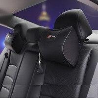 Breathable Car Neck Pillow Car Headrest Pillow For Audi A4 B6 B8 B7 B5 B9 8k