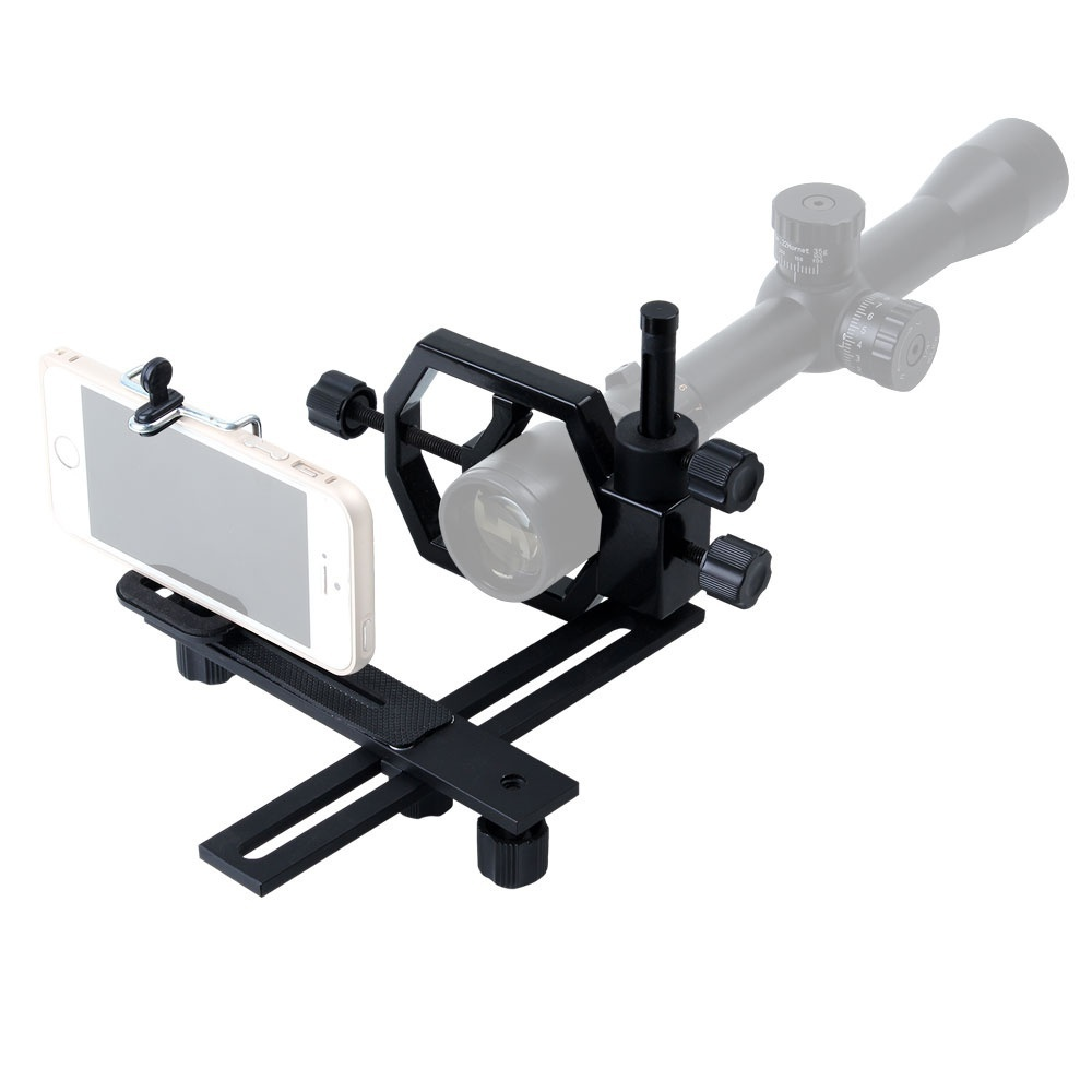 Telescope Tripod Head Holder Mount Adapter Attach Spotting Scope ForPhone Camera