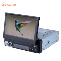 Seicane Android 6.0 Single 1 DIN 7HD GPS NAV System Car Stereo CD DVD Player Radio Bluetooth MP3 Music Mirror Link WIFI