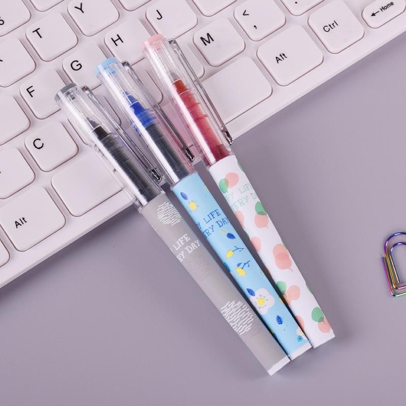 New Baixue Student color gel pen cute pens canetas material escolar stationery papelaria school office supplies