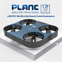 2019 New Original JJRC Mini Drone Ultra thin Remote Control Quadcopters 4CH PLANC Attitude Hold With Foldable Arm Outdoor Toys