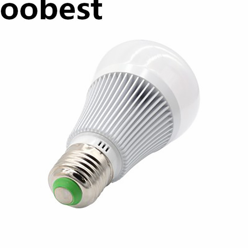 oobest New Sonoff B1 Smart Wifi Dimmable E27 LED Lamp RGB Color Light Timer Bulb Remote Turn ON/OFF Via App 600LM Energy Saving free shipping light lamp led bulb household appliances industrial equipment power remote on off smart home learning code ask