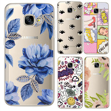 Eyes flowers expressions Case For Samsung Galaxy S5 S6 S7 Edge S8 S9 Plus A3 A5 A8 J1 J2 J3 J5 J7 2016 2017 2018 Prime Note 8