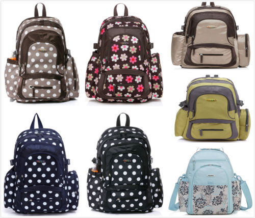 colorland baby diaper nappy backpack bag mom bag in diaper bags from mother kids on aliexpress. Black Bedroom Furniture Sets. Home Design Ideas