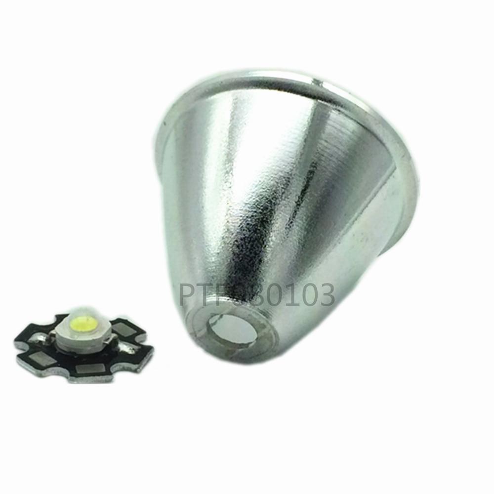 5pcs Q5 T6 U2 LED Flashlight Reflector Cup For CREE C8 C11 Glare Electric Torch