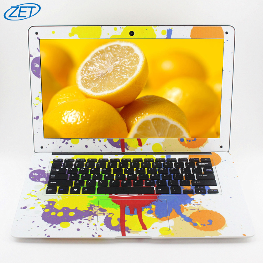 1920X1080P FHD Screen 8GB RAM 120GB SSD 500GB HDD Windows10 Ultrathin Quad Core New Style Laptop