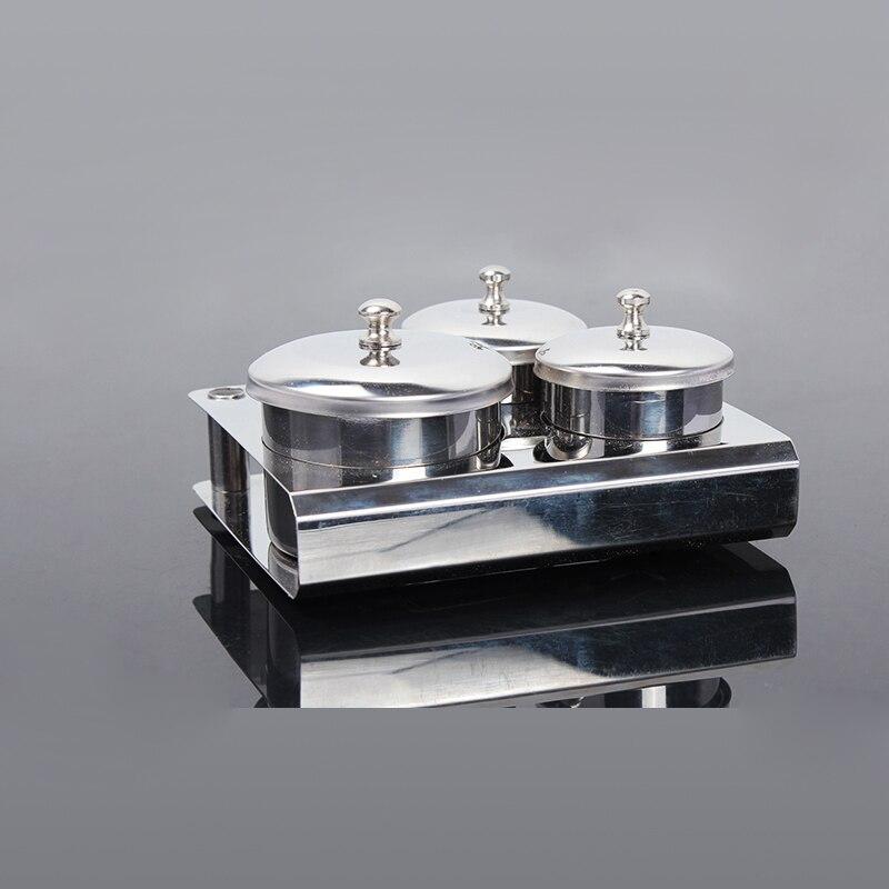 1 Set 3PCS Nail Art Equipment Mini Paslanmayan Dekorasiyalar Akril - Dırnaq sənəti - Fotoqrafiya 6